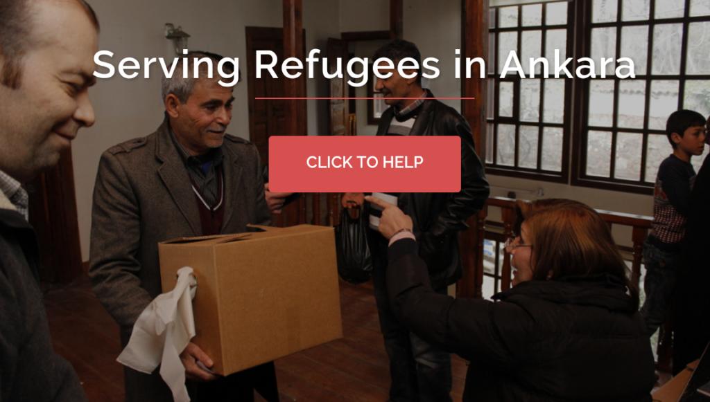 Serving Refugees in Ankara